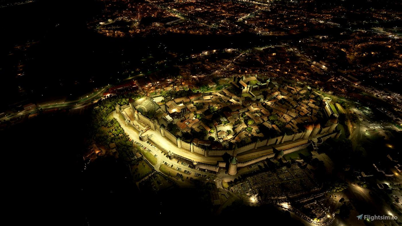 Cité de Carcassonne, walled city