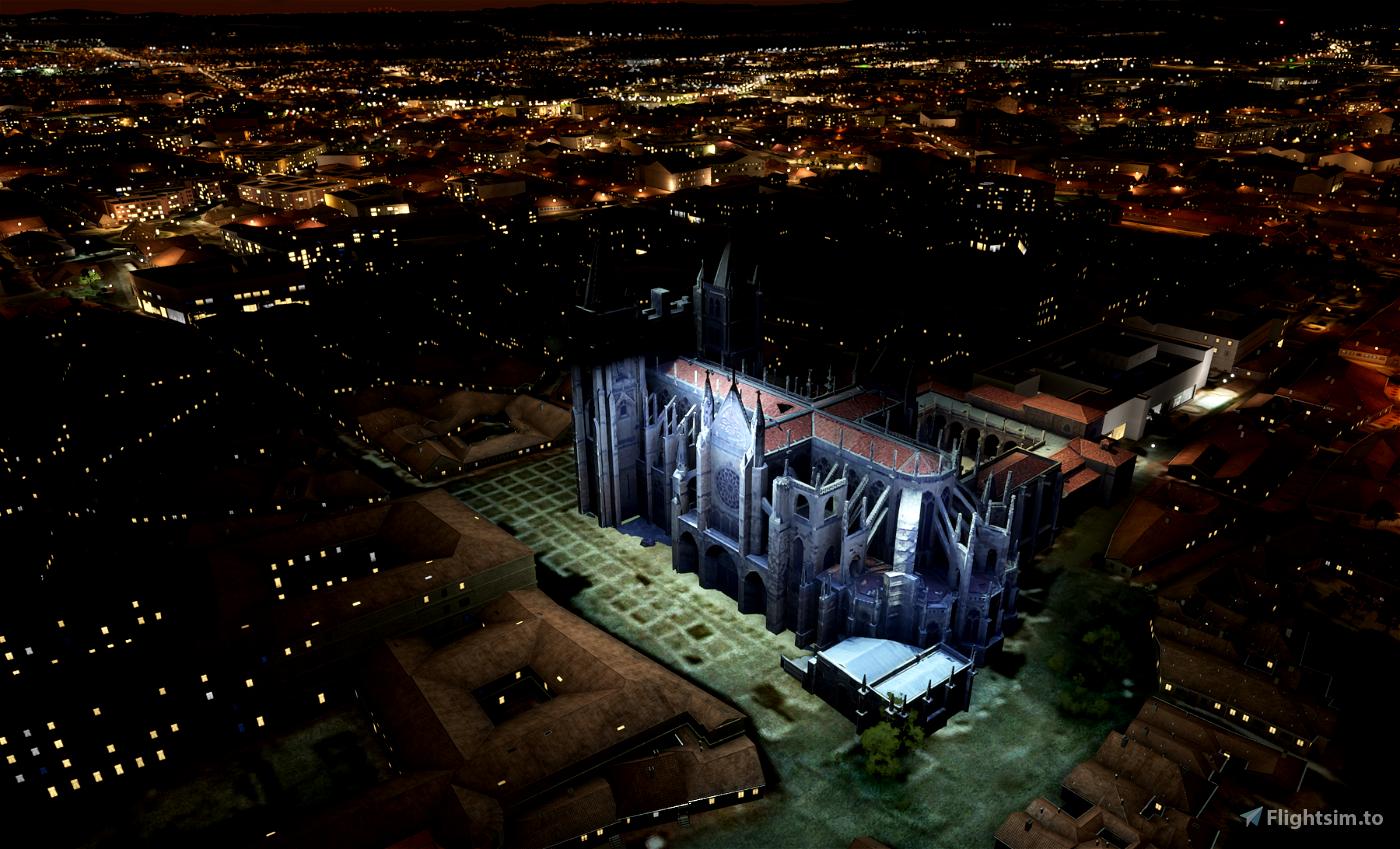 Leon City Landmarks v1, Spain
