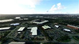 Stoke-on-Trent Landmarks Image Flight Simulator 2020