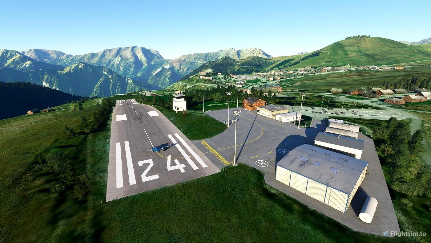 L'Alpe d'Huez LFHU touch-up Image Flight Simulator 2020