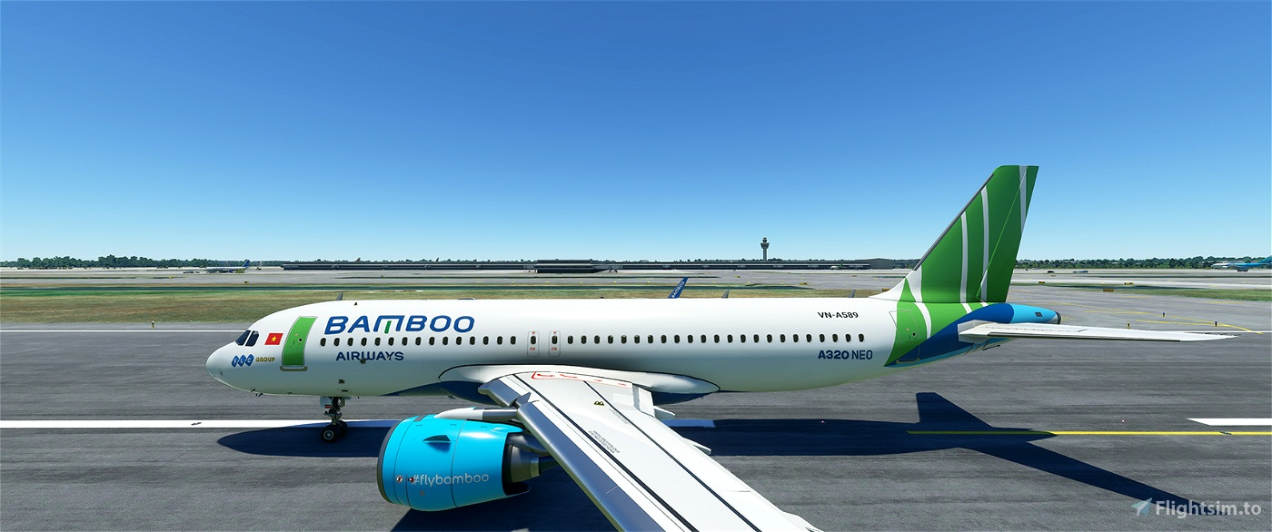 Bamboo Airways Flight Simulator 2020