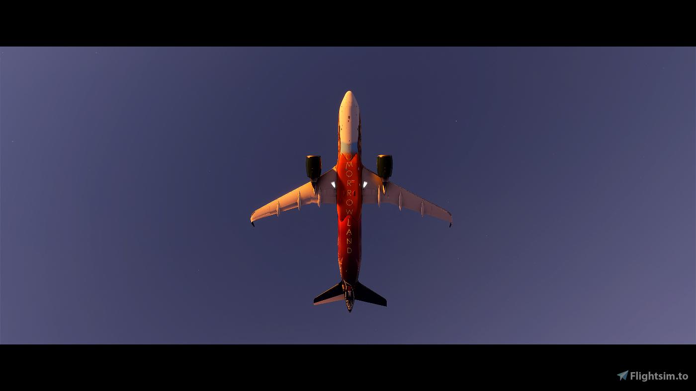 A320NEO Tomorrowland Amare Edition 4k (Drag&Drop)