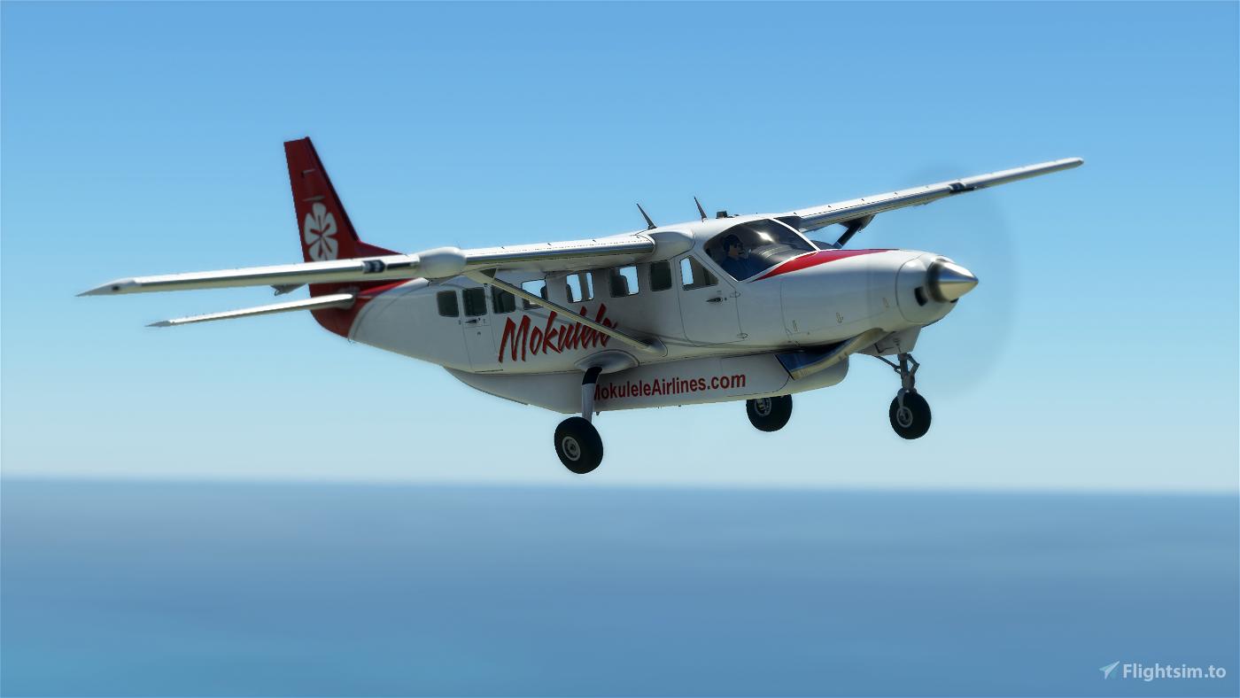 Mokulele Airlines Cessna 208b Grand Caravan EX Livery