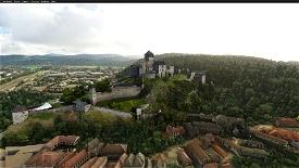 Castles of Slovakia Microsoft Flight Simulator