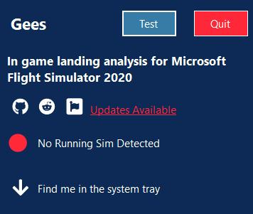 Gees - In game landing analysis
