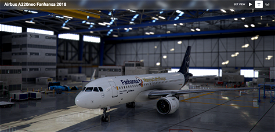 [8k] Fanhansa Mannschaftsflieger (Lufthansa World Cup 2018) Image Flight Simulator 2020