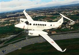 KingAir350 French Air Force F-ZACG Image Flight Simulator 2020