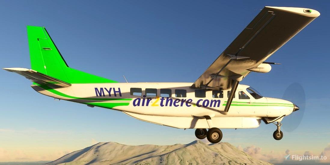 Cessna C208B Grand Caravan ZK-MYH Air2there Flight Simulator 2020