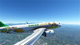 [High Res] EVA Air Gudetama  Image Flight Simulator 2020