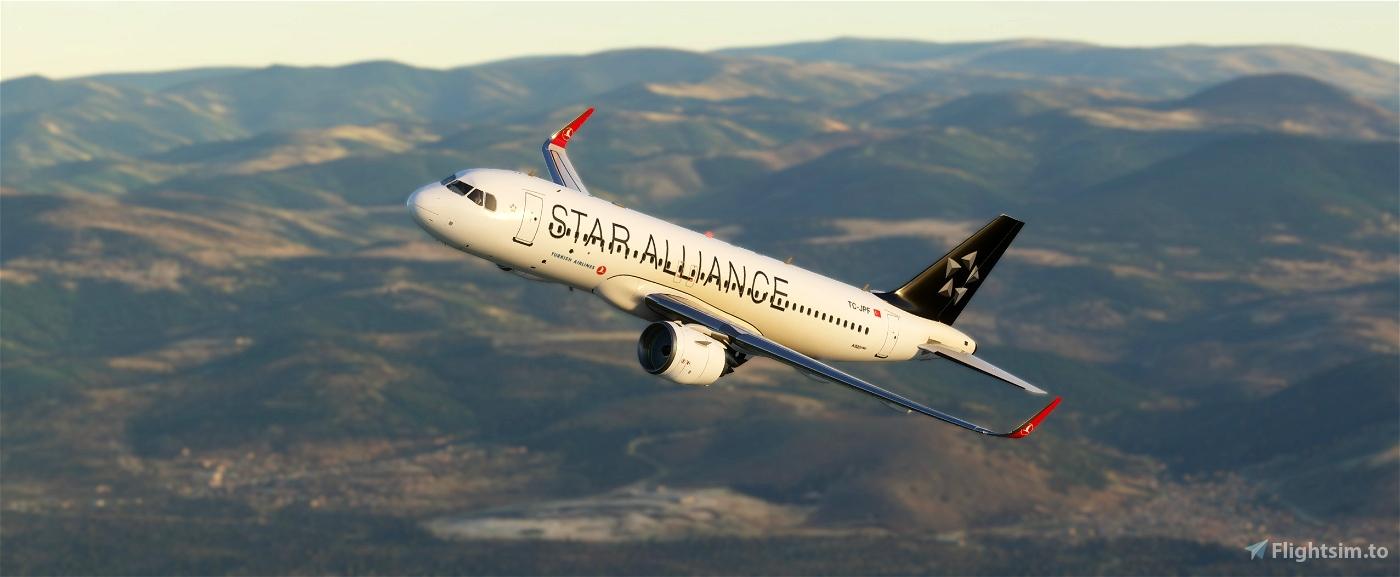 Star Alliance THY Türkiye Flight Simulator 2020