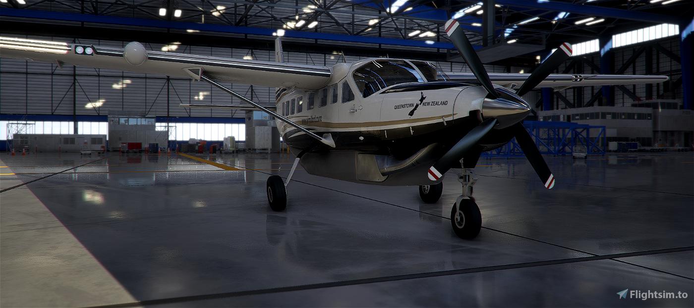 New Zealand Air Milford Caravan 208