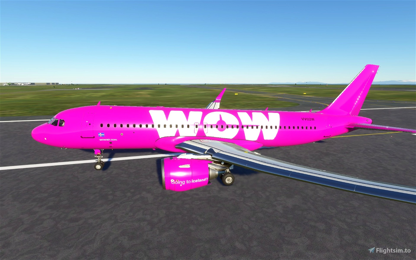 A320 WOW air Flight Simulator 2020