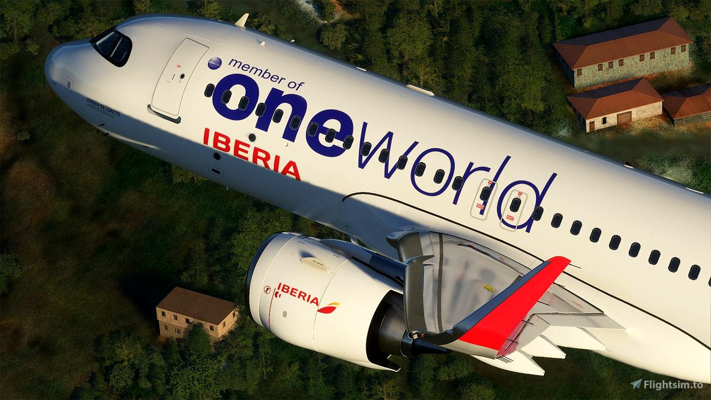 Iberia Oneworld A320 neo EC-NFZ 8K