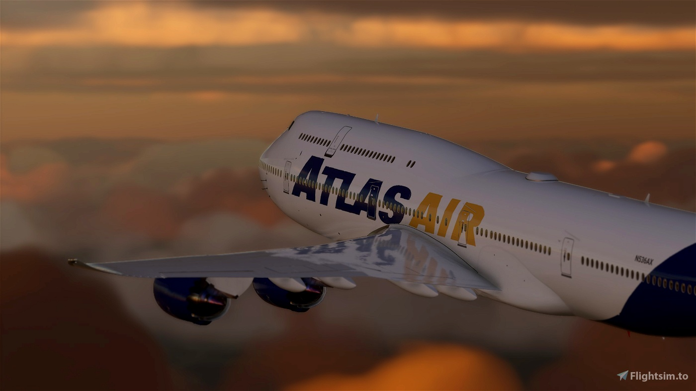 Atlas Air 747 Pack