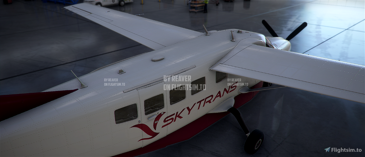 Australia Skytrans Caravan 208