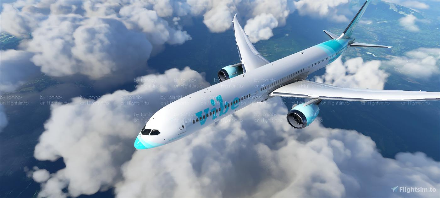 B787 Vibe Virtual Airlines | 4K Flight Simulator 2020