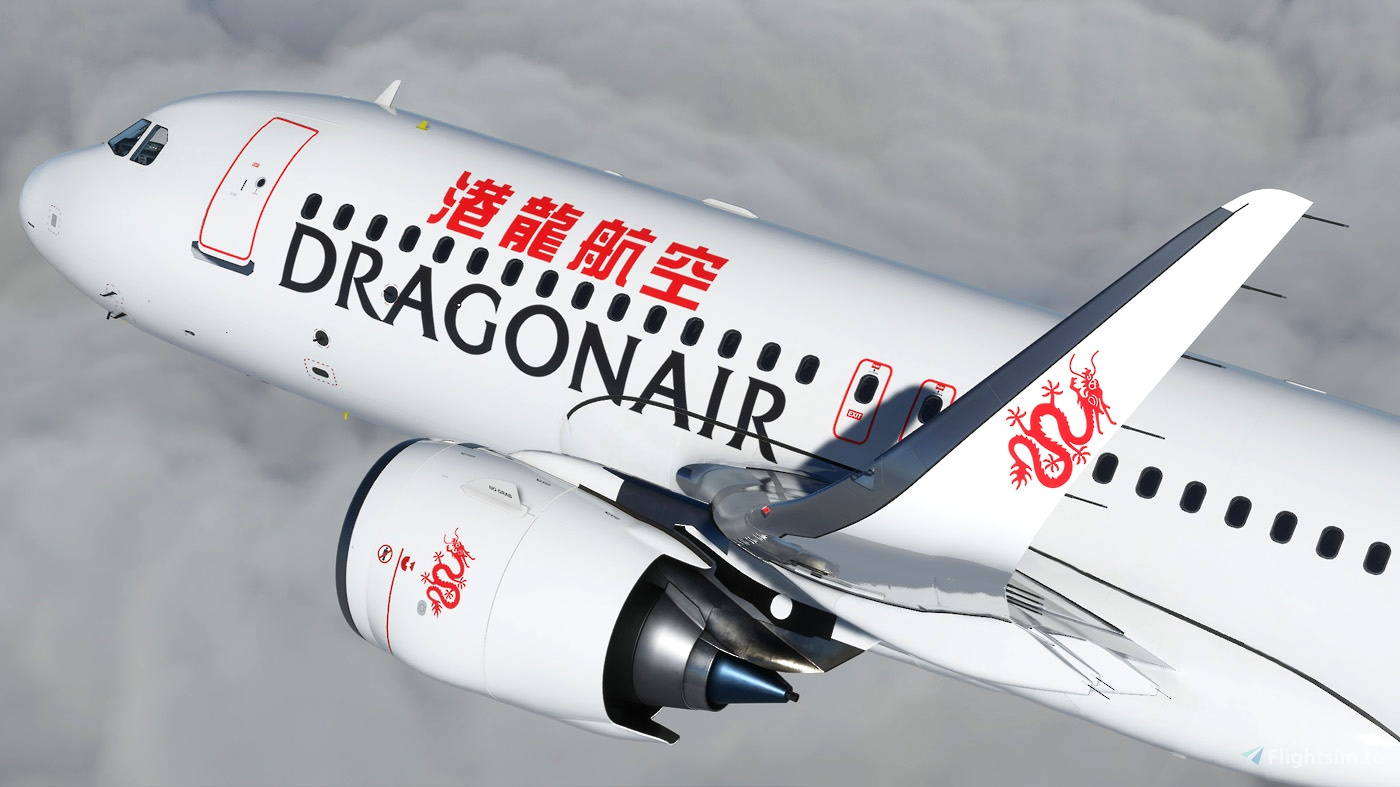 Dragonair A320 Neo 8K Flight Simulator 2020