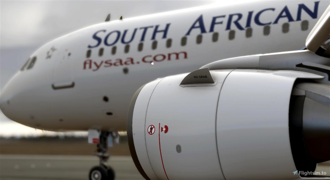 a320 South African Airways Flight Simulator 2020