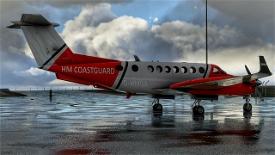 Beechcraft King Air350 HM CoastGuard Image Flight Simulator 2020