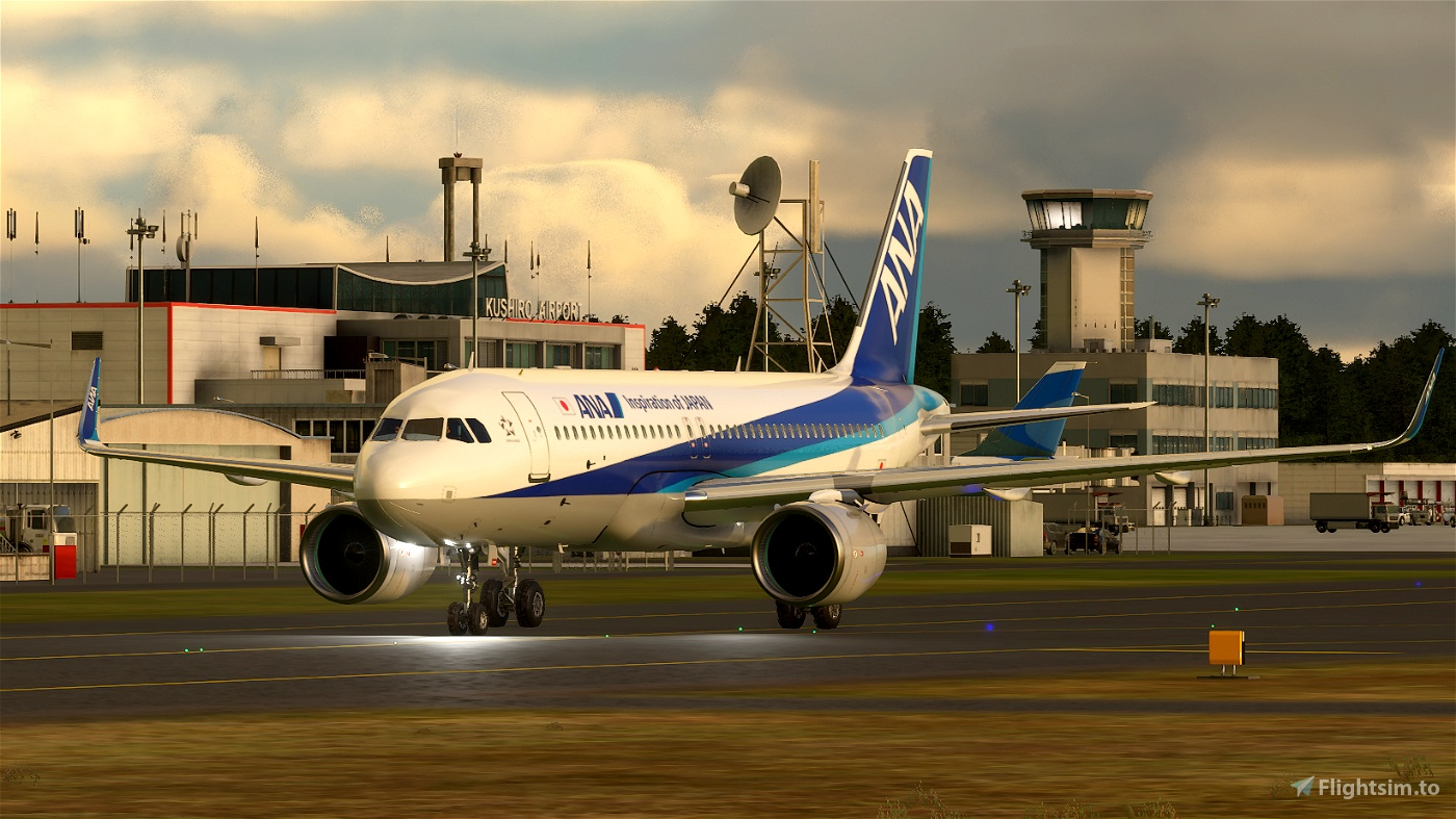 A320neo All Nippon Airways JA219A(4K patch 5)