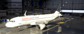 China Wuhan Airlines A320neo Image Flight Simulator 2020