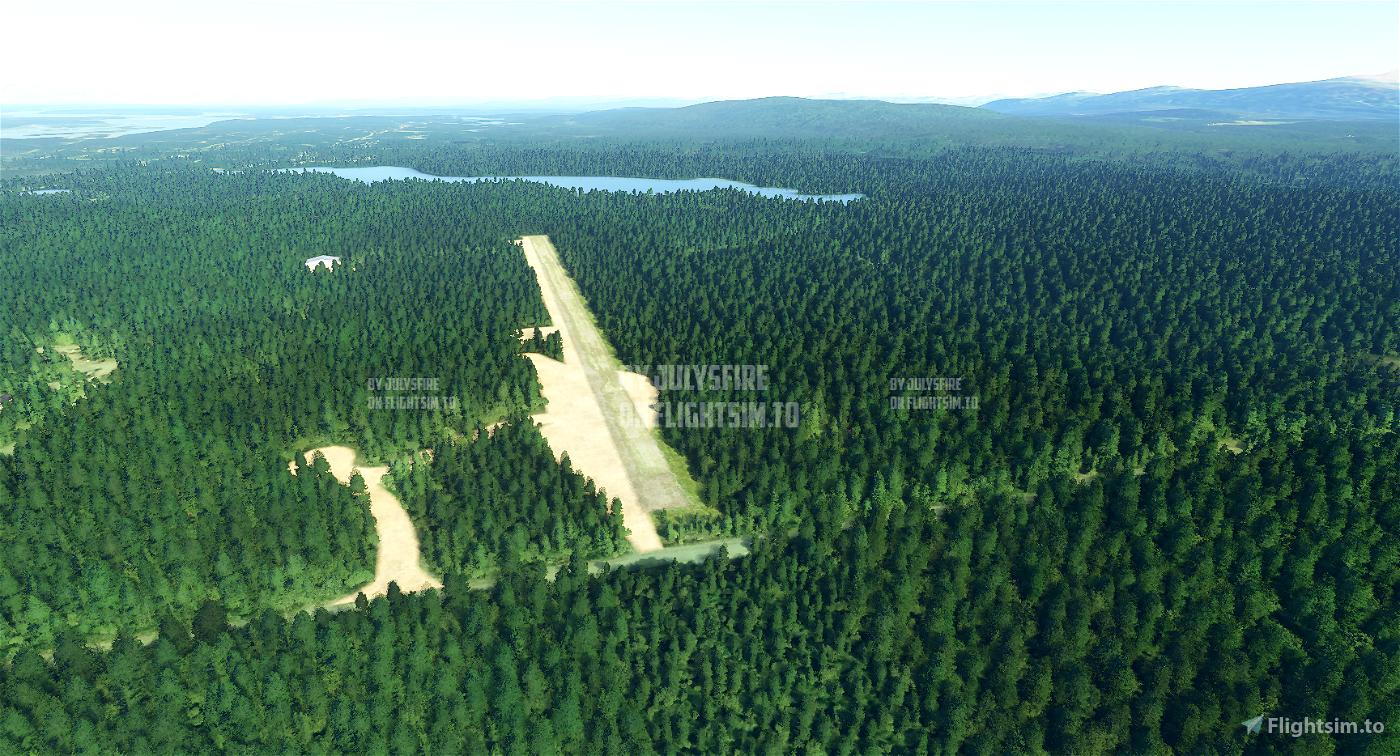 Talkeetna, Alaska Area Airport/Scenery Pack (6 airports in 1 pack)