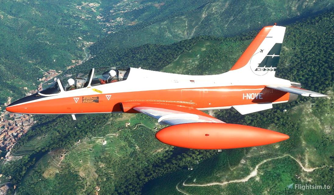 Aermacchi MB-339 I-NOVE Flight Simulator 2020