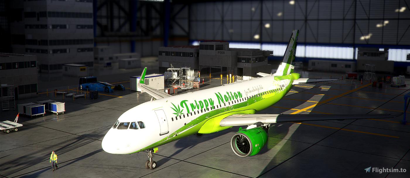 A320- Trippy Nation Livery Flight Simulator 2020