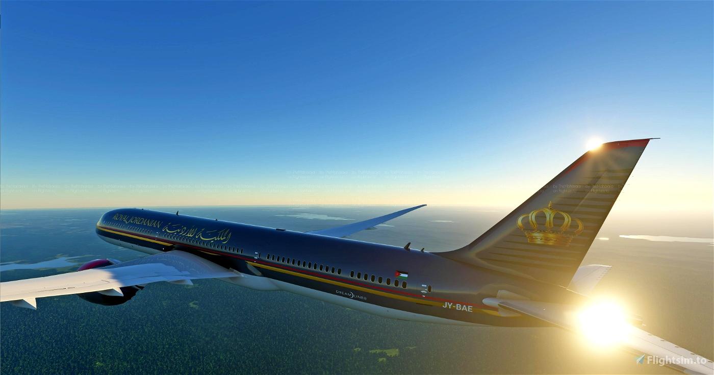 Royal Jordanian Airlines [8K]