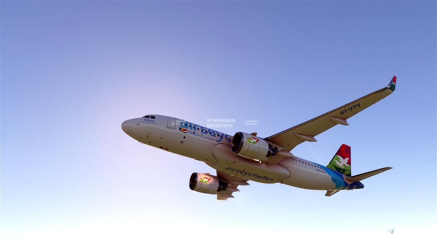 Air Seychelles Livery [8K] Flight Simulator 2020