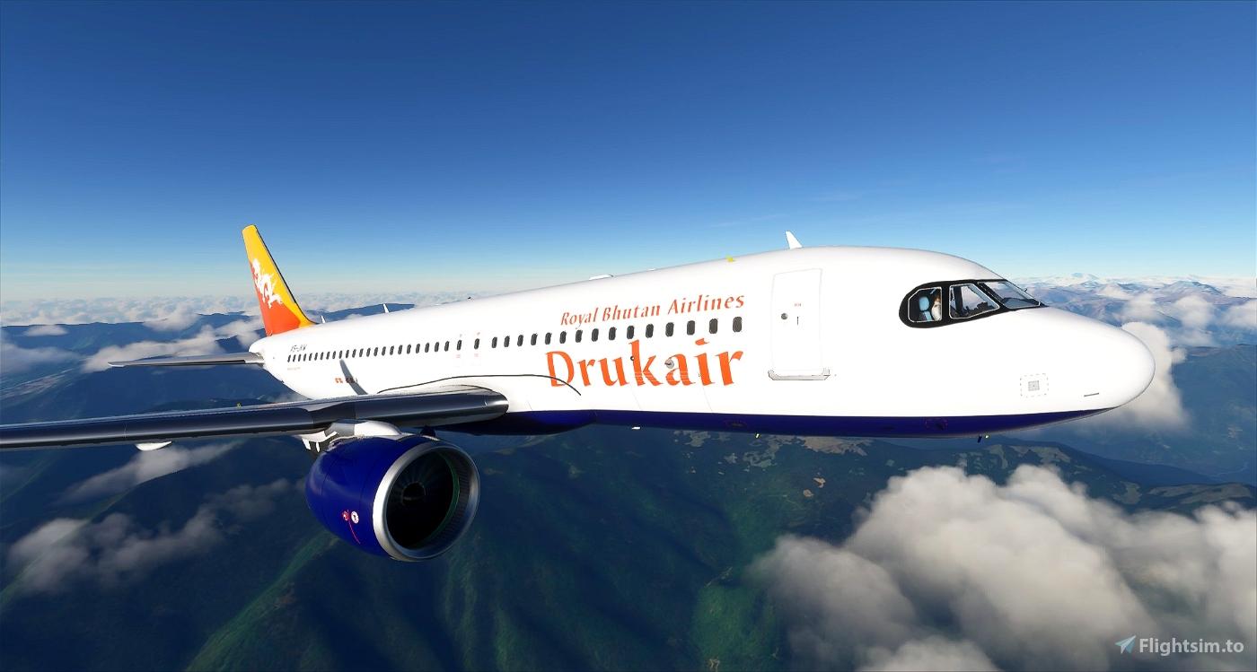 Drukair - Royal Bhutan Airlines - 8K
