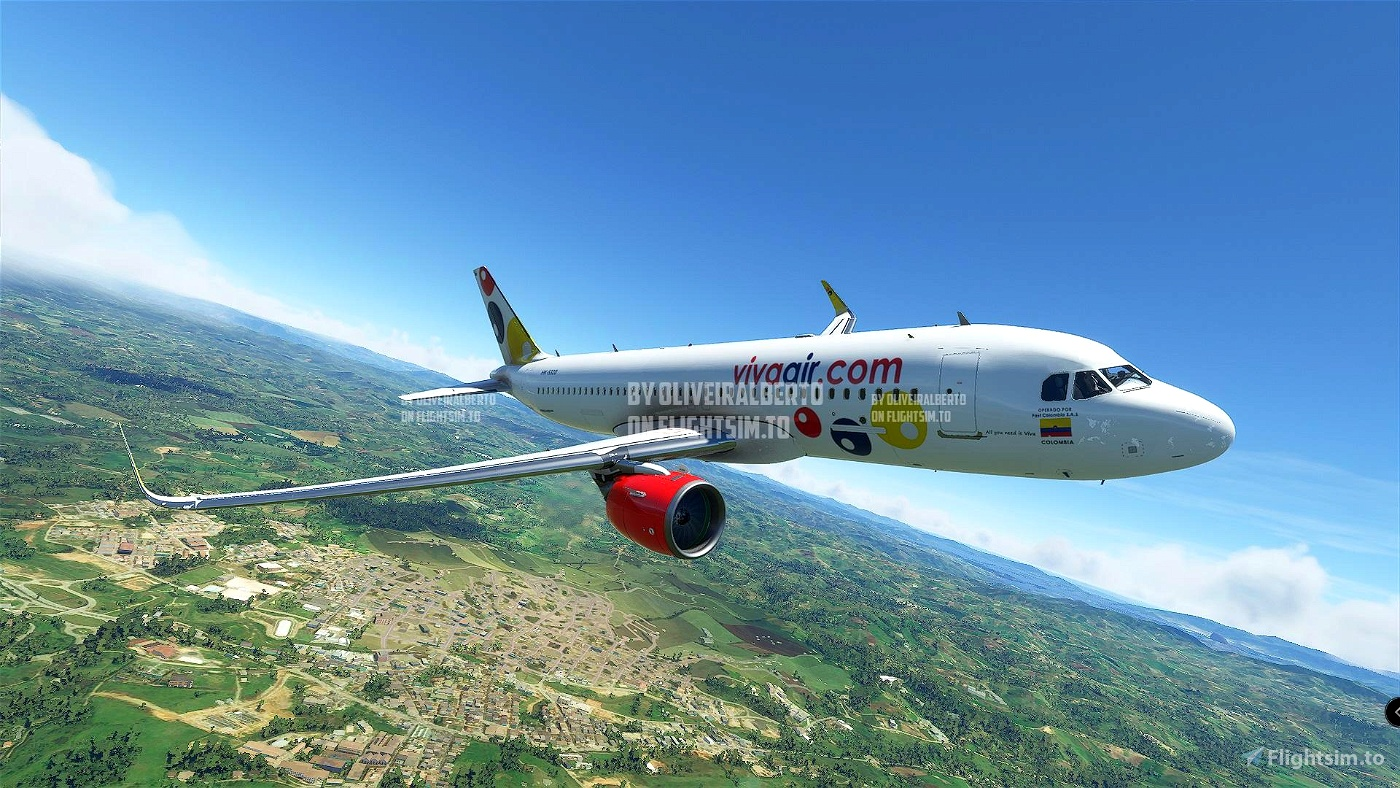 Viva Air Colombia Flight Simulator 2020