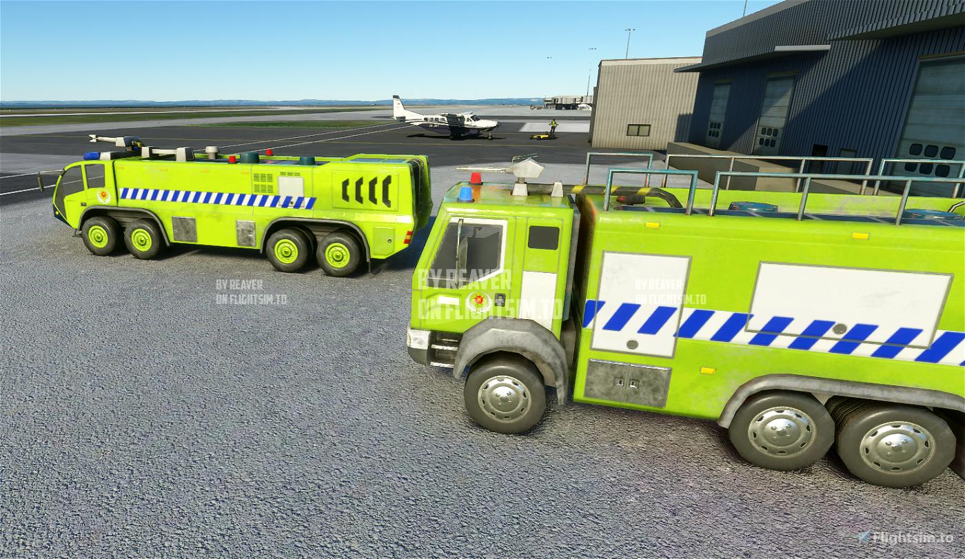 Australia New Zealand Fire Trucks Microsoft Flight Simulator
