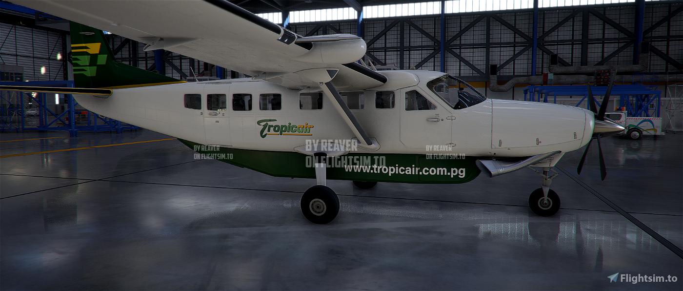 Papua New Guinea (PNG) Tropicair Caravan 208 Flight Simulator 2020