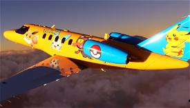 Pokemon CJ4 - [4k]  Image Flight Simulator 2020