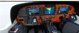 Cessna C 208 Grand Caravan panel file Image Flight Simulator 2020