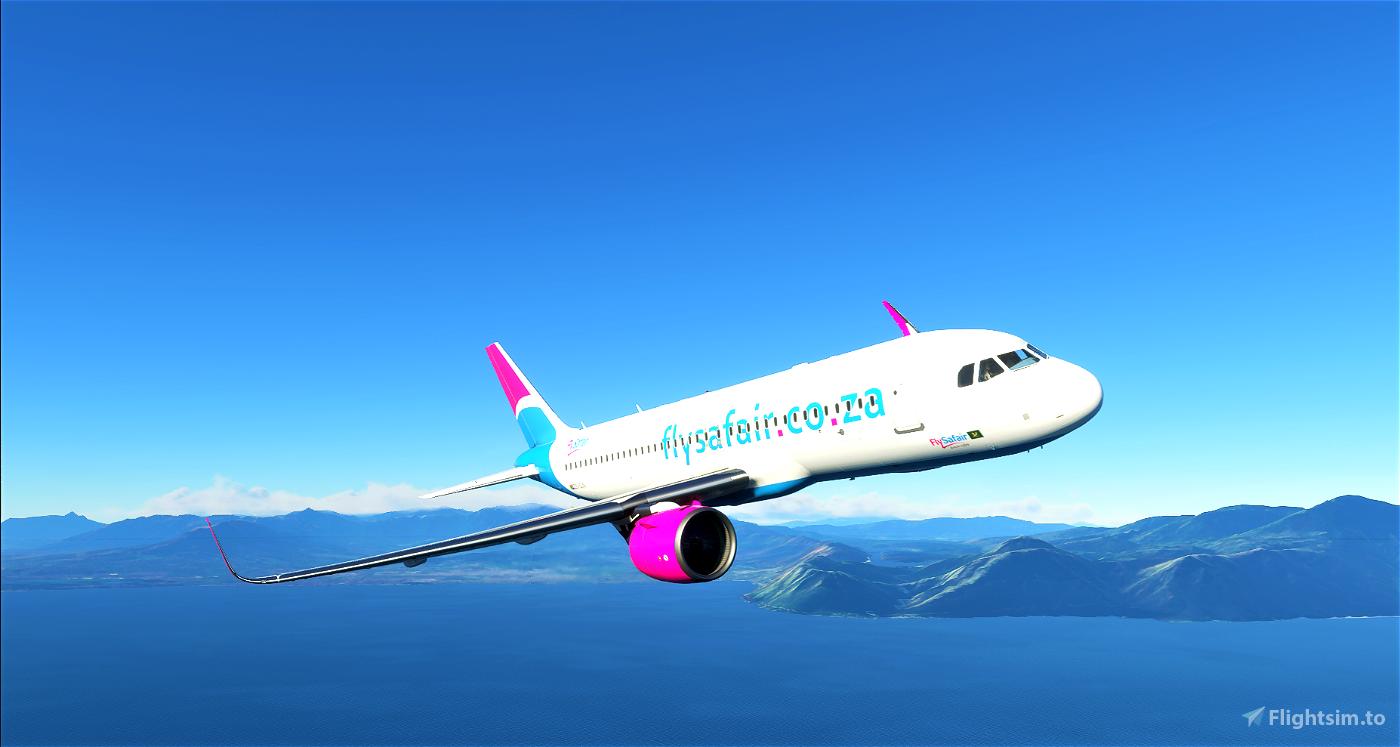8K Flysafair A320