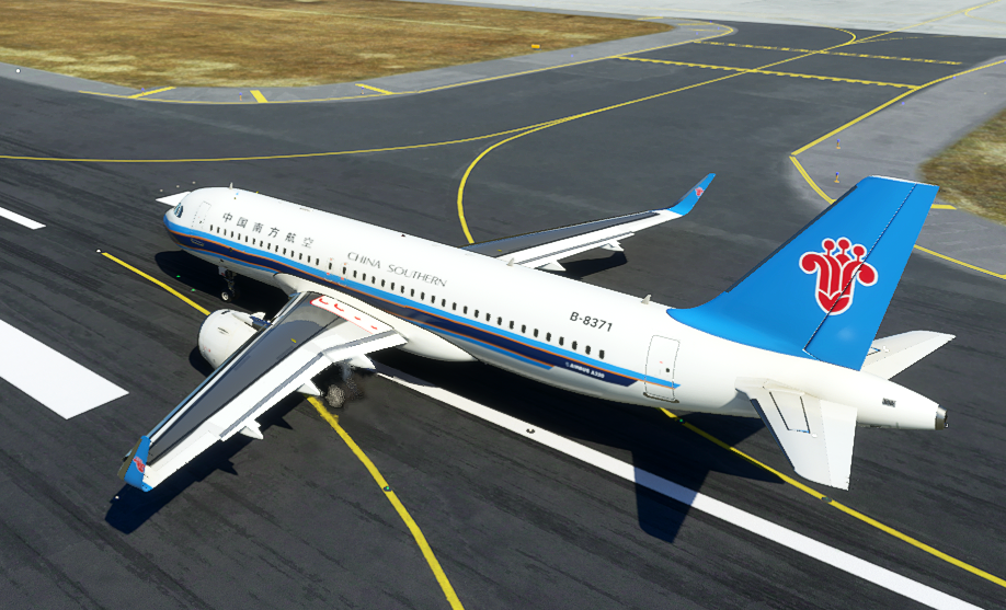 China Southern Airlines A320neo Flight Simulator 2020