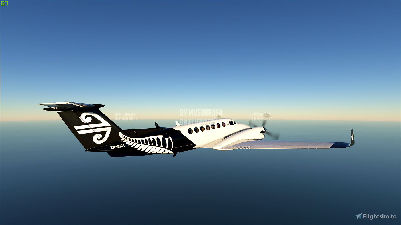 B350 Air New Zealand (Fictional) (4K) Flight Simulator 2020