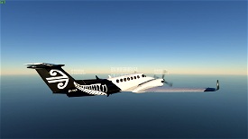 B350 Air New Zealand (Fictional) (4K) Image Flight Simulator 2020