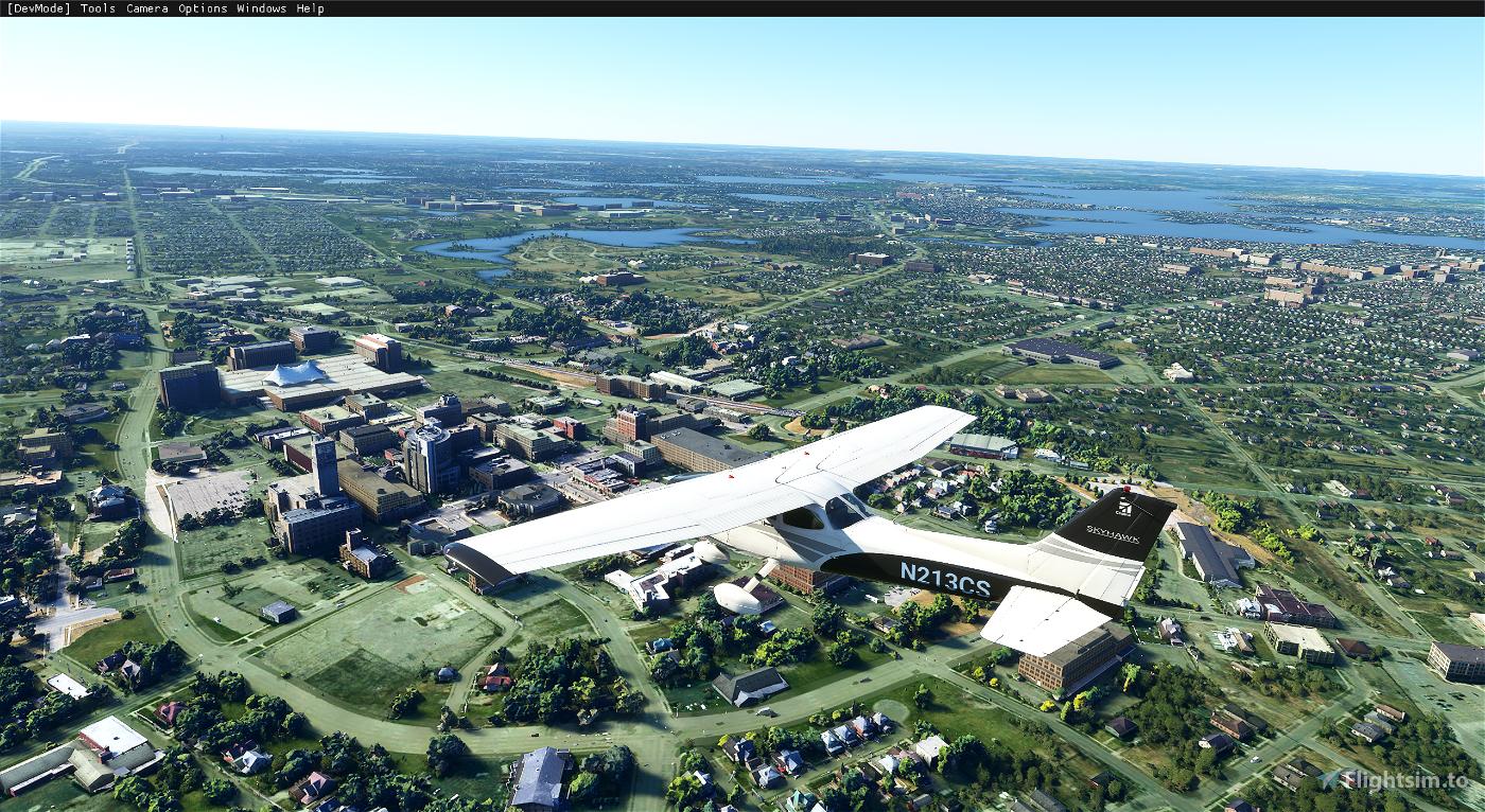 Michiganderflyer-Pontiac Flight Simulator 2020