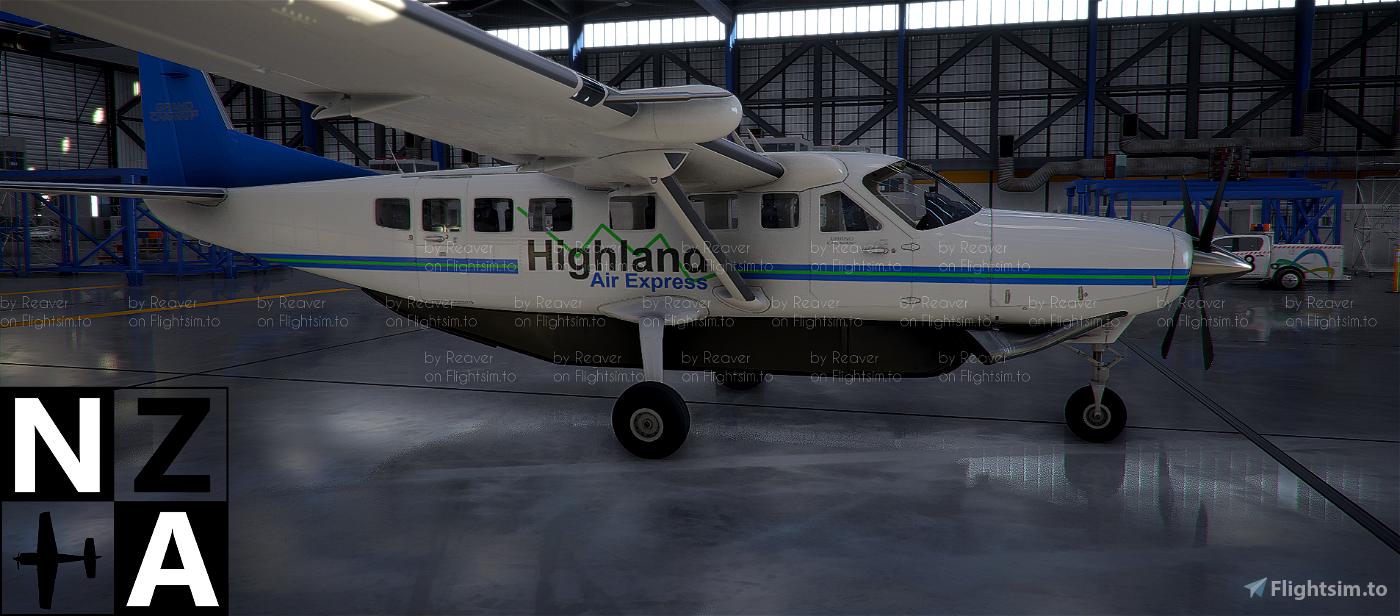 Highland Air Express VA Caravan 208