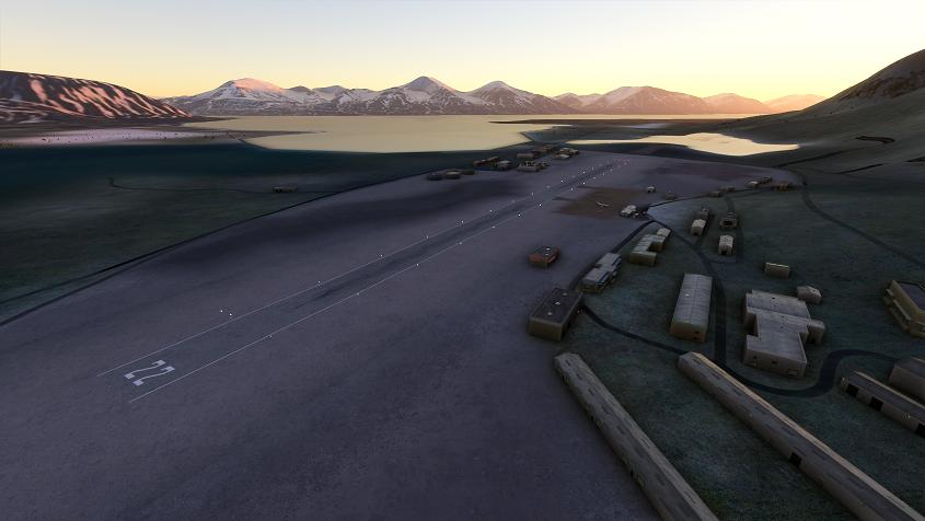 ENSA - Svalbard/Svea Microsoft Flight Simulator