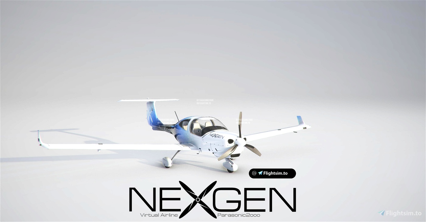 Diamond DA40-NG - NEXGEN Pilot School [VERSION 1.10.7.0] Flight Simulator 2020