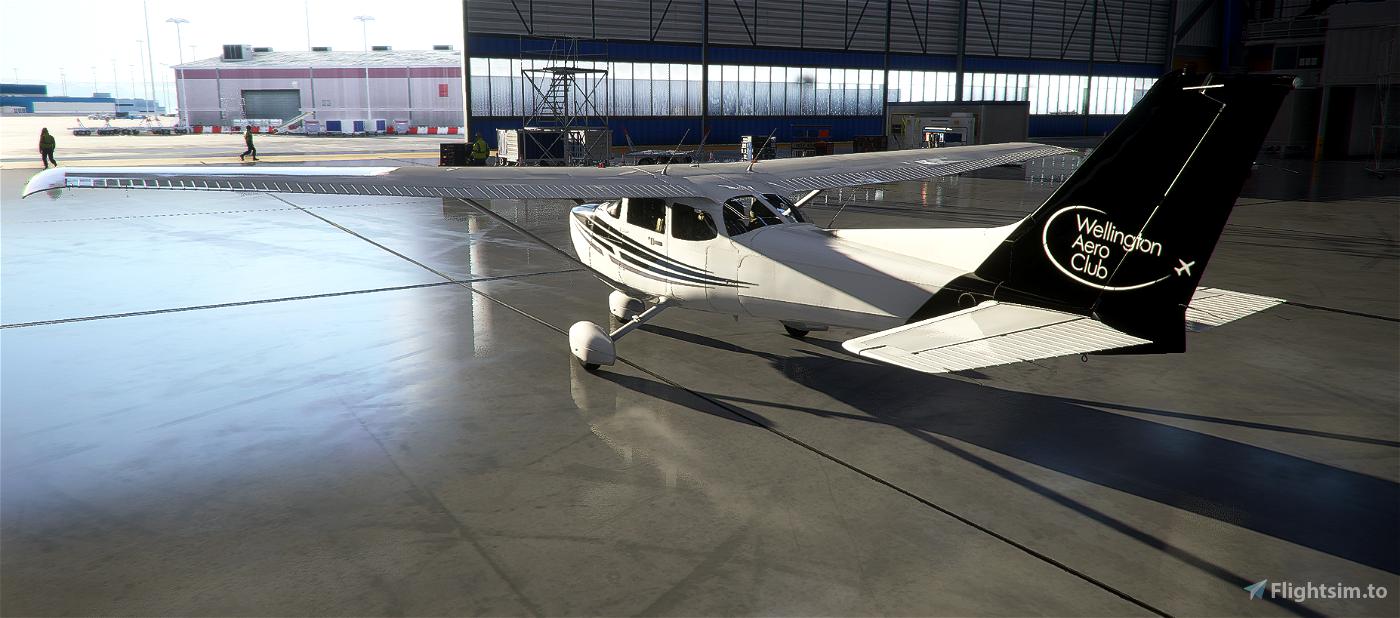 New Zealand Wellington Aero Club C172 Skyhawk (G1000) Flight Simulator 2020