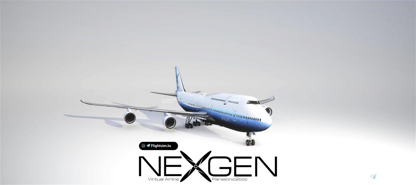 B747 - NEXGEN Virtual Airline [VERSION 1.10.7.0] Flight Simulator 2020