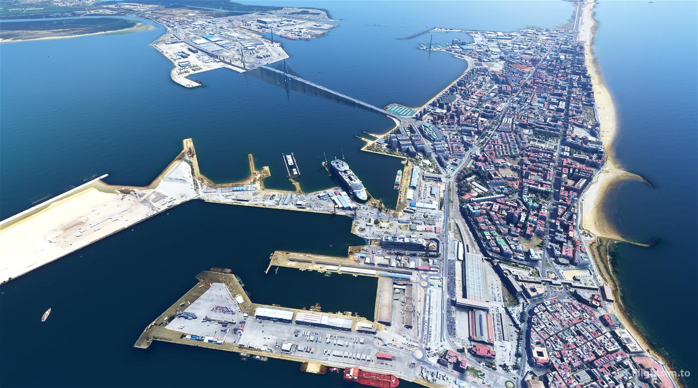 Updated - Cadiz Landmarks - Full City in Photogrammetry