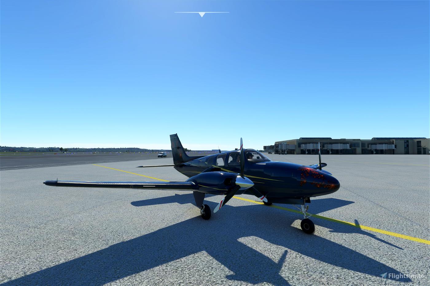 Beechcraft Baron G58 Blue Fusion