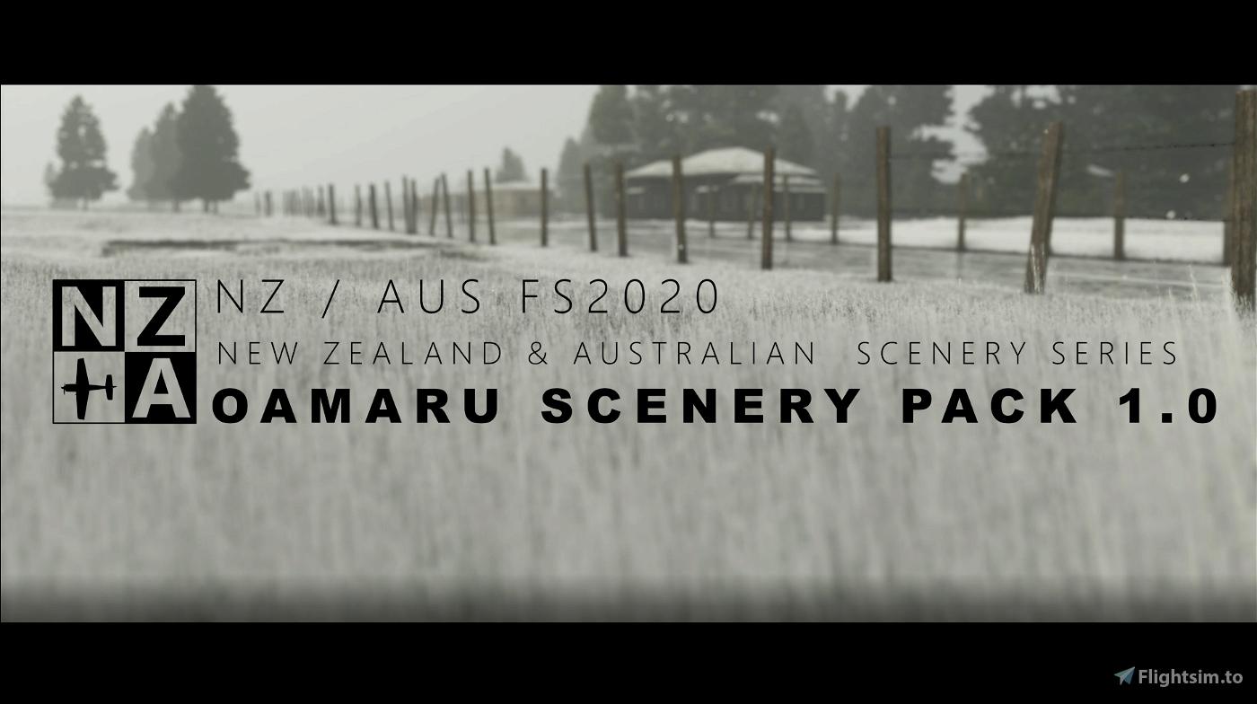 NZA Simulations - NZOU Oamaru V1.0 Microsoft Flight Simulator