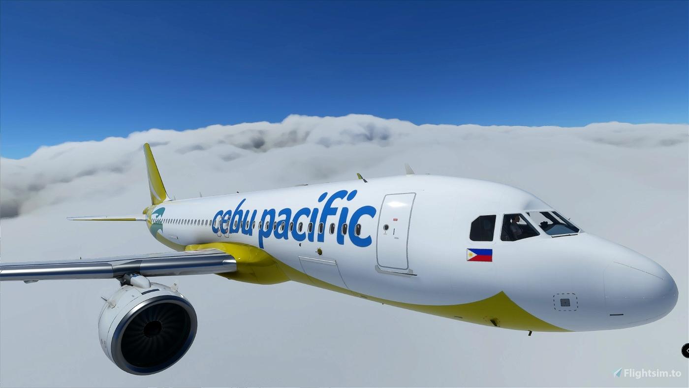 Cebu Pacific 8K Flight Simulator 2020